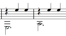 bass melody example
