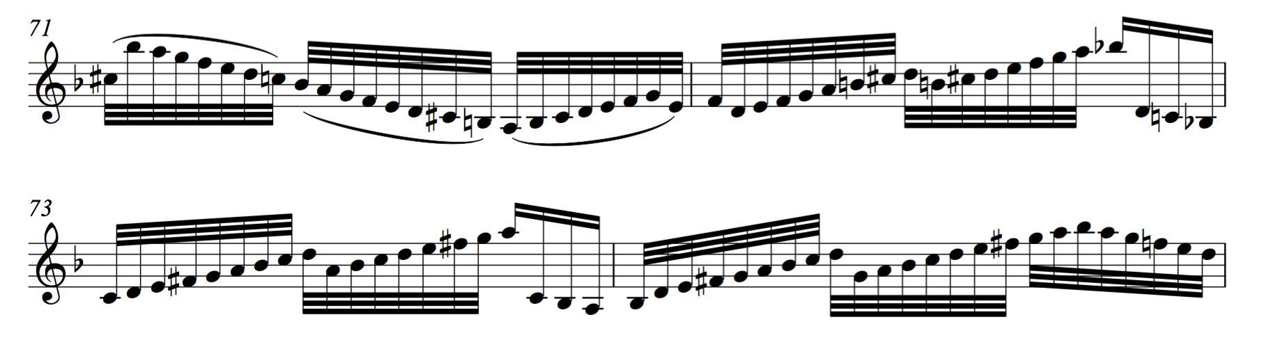 السلالم الموسيقية