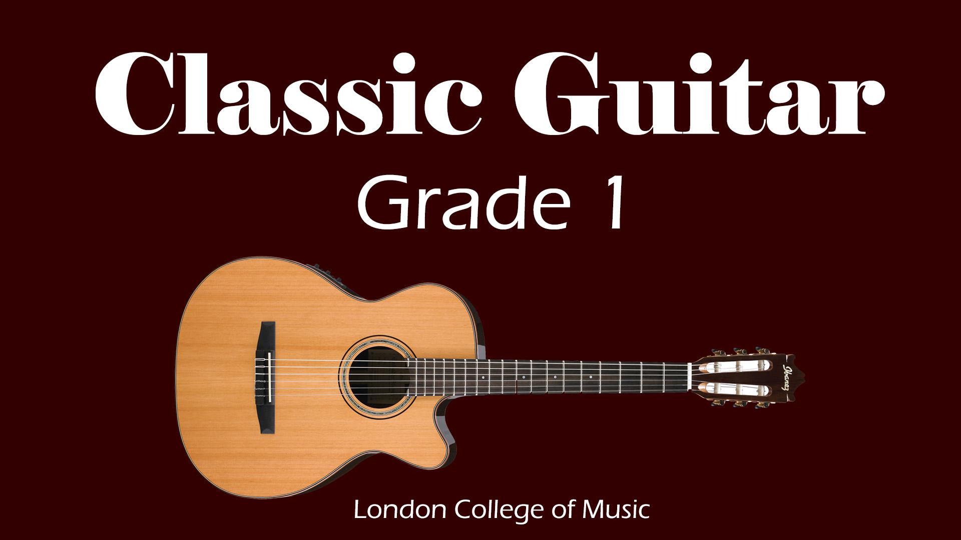 Learn Classic Guitar – Grade 1