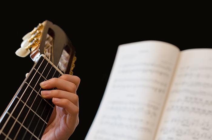تعلم الجيتار للمبتدئين