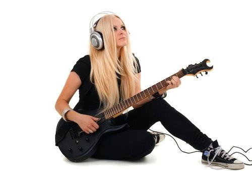 عزف الجيتار سماعي